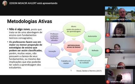 FORMAÇÕES SOBRE METODOLOGIAS ATIVAS