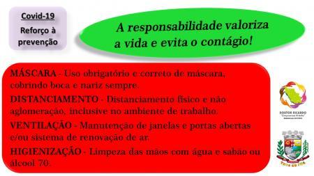 PREOCUPAÇÃO COM A COVID-19