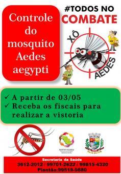 CONTROLE DO MOSQUITO AEDES AEGYPTI