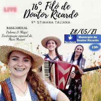 16º FILÓ DE DOUTOR RICARDO E 9ª STIMANA TALIANA