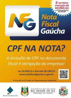 MAIS GANHADORES DA NOTA FISCAL GAÚCHA