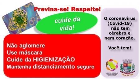 DE NOVO! COVID-19 CAUSA PREOCUPAÇÃO