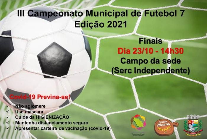 III CAMPEONATO MUNICIPAL DE FUTEBOL 7